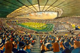 Hand Painted original of murrayfield